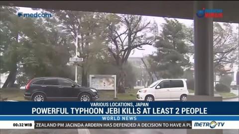 Powerful Typhoon Jebi Kills At Least 2 People