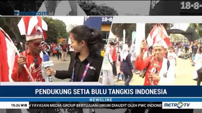 Mengenal Hariyanto Suporter Setia Bulu Tangkis Indonesia