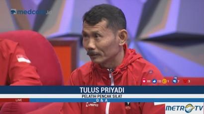 Pesan Prabowo Sebelum Atlet Silat Bertanding di Asian Games