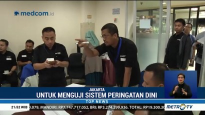 Metro TV Gelar Simulasi Pemberitaan Gempa Bumi