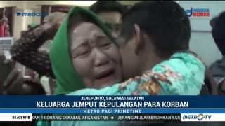Korban Selamat KLM Wahyu Ilahi Tiba di Jeneponto