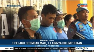 Pembegal Mahasiswi di Bandung Ditembak hingga Tewas