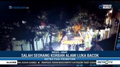 Aksi Begal di Bekasi Terekam CCTV