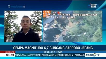 Gempa 6,7 SR Guncang Jepang