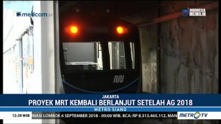 MRT Jakarta Jalani Uji Coba Trek, Sinyal dan Kelistrikan