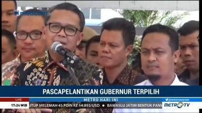 Gubernur Nurdin Disambut Ribuan Relawan di Makassar