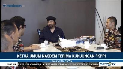 Surya Paloh Terima Kunjungan Pengurus FKPPI