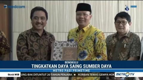Pemprov Bengkulu-Media Group Kerja Sama Kembangkan Potensi Ekonomi & Pariwisata