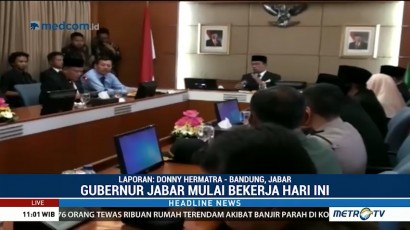 Ridwan Kamil Tunjuk Oded Jadi Plt Wali Kota Bandung