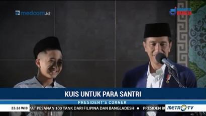 Jokowi Bersama Santri dan Siswa