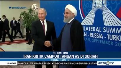Pemimpin Iran, Turki dan Rusia Gelar Pertemuan Bahas Suriah