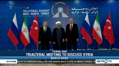 Trilateral Meeting to Discuss Syiria
