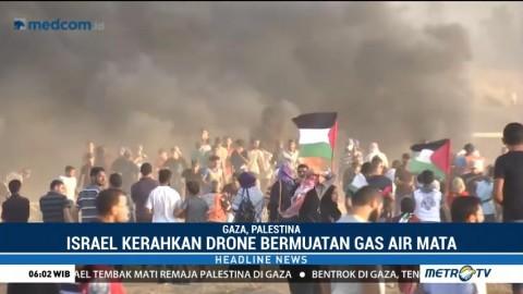Remaja Palestina Tewas Akibat Serangan Militer Israel