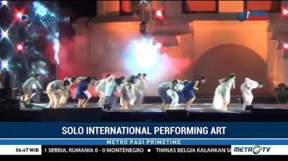 Kemeriahan Solo International Performing Art 2018