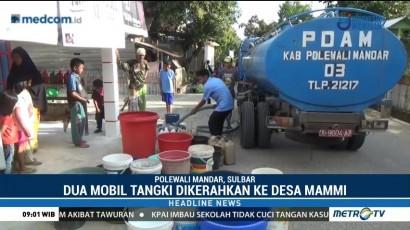 DPD Partai NasDem Polewali Mandar Distribusikan Air Bersih