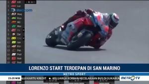 Lorenzo Raih Pole Position di San Marino