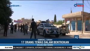 17 Tewas dalam Bentrokan Pasukan Suriah dengan Pasukan Kurdi