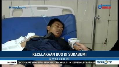 Kesaksian Korban Selamat Kecelakaan Bus di Sukabumi