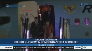 Presiden Jokowi Tiba di Korea Selatan