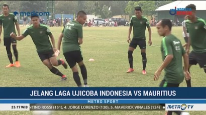 Timnas Indonesia Berlatih Tanpa Milla