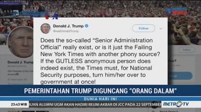 Pemerintahan Trump Diguncang