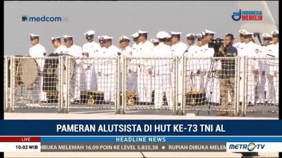 Peringatan Hari Jadi ke-73 TNI AL Digelar di Dermaga Pondok Dayung