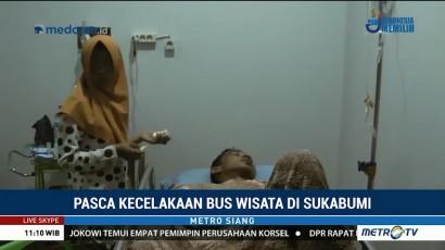 Bus Jatuh ke Jurang, Kondektur Alami Patah Tulang