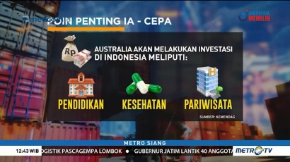 Indonesia-Australia Pererat Kerja Sama Perdagangan