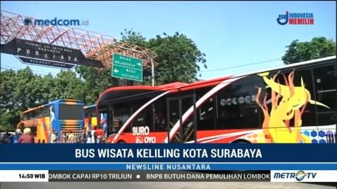 Bus Wisata Keliling Surabaya