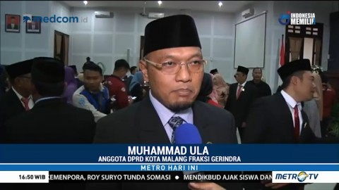 Resmi Dilantik, Anggota Baru DPRD Kota Malang Berjanji akan Amanah