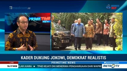 Izinkan Kader Dukung Jokowi-Ma'ruf, Demokrat Main Dua Kaki?