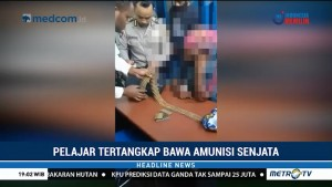 Pelajar di Papua Tertangkap Bawa Amunisi Senjata