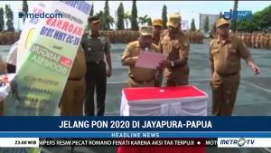Jelang PON 2020, Pemprov Papua Lakukan Hitung Mundur