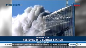 Restored WTC Subway Station Symbolizes New York's Resilience