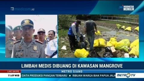 Polisi Selidiki Sumber Limbah Medis di Kawasan Mangrove Karawang