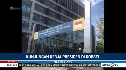 Agenda Jokowi di Korsel Hari Ini