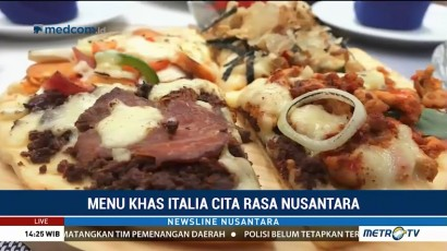 Kafe Ini Sajikan Menu Khas Italia dengan Cita Rasa Nusantara