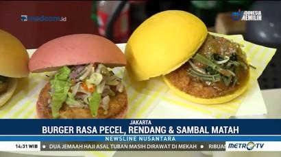 Unik, Restoran Ini Sajikan Burger Pecel hingga Sambal Matah