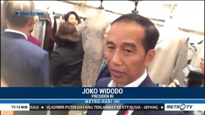 Jokowi: RI Bisa Contoh Korsel dalam Sediakan Fasilitas untuk Pedagang