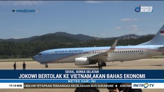 Jokowi Bertolak ke Vietnam