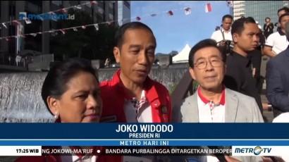 Jokowi akan Percantik Sungai Ciliwung Seperti di Seoul