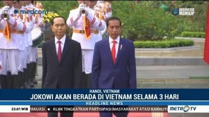 Usai Korsel, Jokowi Berada di Vietnam Selama Tiga Hari