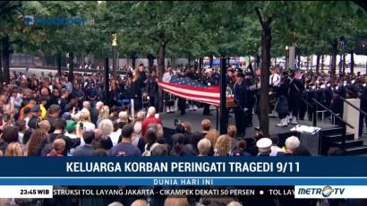 Isak Tangis Keluarga Korban Warnai Peringatan Tragedi 9/11