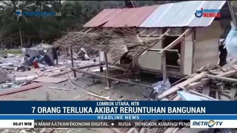 Puting Beliung Terjang Lombok Utara