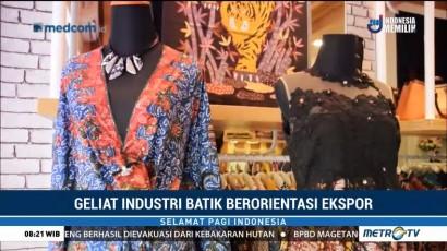 Geliat Industri Batik Berorientasi Ekspor