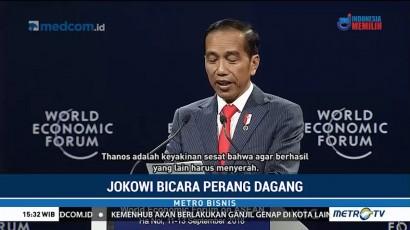 Jokowi Ibaratkan Perang Dagang Seperti Thanos