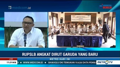 Garuda Indonesia Resmi Angkat Dirut Baru