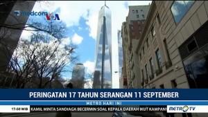 Warga Amerika Peringati 17 Tahun Serangan 11 September