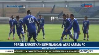 Persib Targetkan Kemenangan atas Arema FC