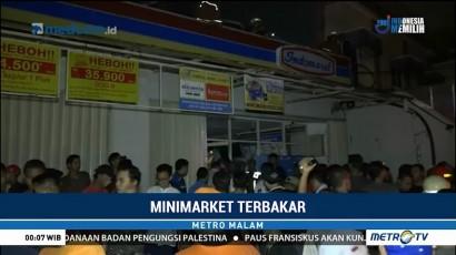 Kebakaran Minimarket di Kemayoran Diduga Akibat Arus Pendek Listrik